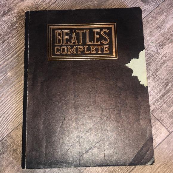 2/$6 1978 Beatles Complete songbook